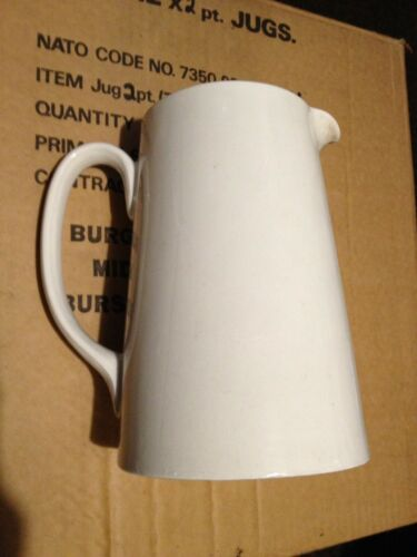 Genuine Issue British Military 2 Pint Jug Cold War Pottery Army Air Force Navy