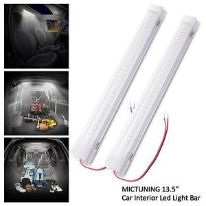 Mictuning 135 car interior led light bar 35w 72 led lamp for van image is loading mictuning 13 5 034 car interior led light aloadofball Gallery