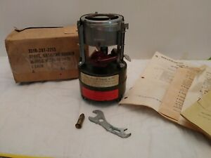 US MILITARY CAMP STOVE NIB M-1950 1964 WITH INSTRUCTIONS