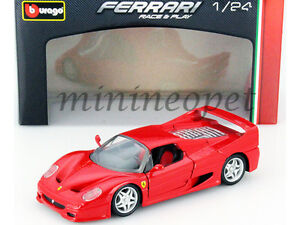 BBURAGO-18-26010-FERRARI-F-50-1-24-DIECAST-MODEL-CAR-RED