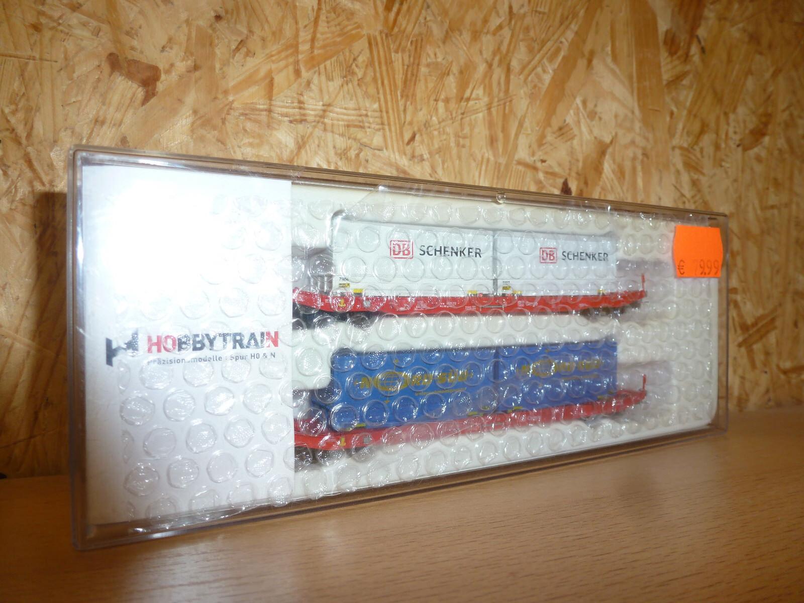 Hobby Train 2 piezas sgkkms 698 DB cargo, Schenker, EP. vi; h23761