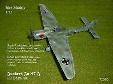 Junkers Ju 87 J  (mit BMW 801)    1/72 Bird Models Umbausatz / resin conversion