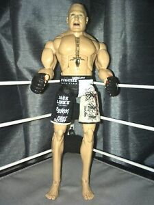 Brock Lesnar - UFC 100 Octagon Playset WWE Mattel Elite Classic