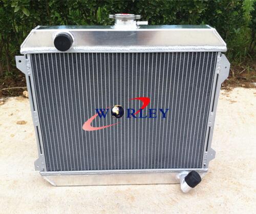 3 ROWS Alloy Aluminum Radiator for Nissan Datsun Stanza 620 L20B 75-79 Manual