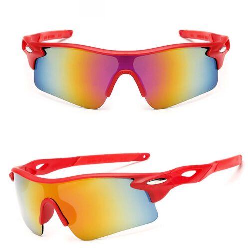 Sport Sonnenbrille Radfahrerbrille Sportbrille Rennrad Triathlon Brille X1 blau