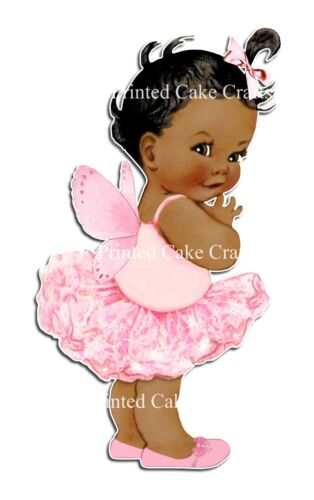 EDIBLE PRECUT ICING PINK BUTTERFLY BABY BEAUTIFUL ICING BABY SHOWER CAKE TOPPER