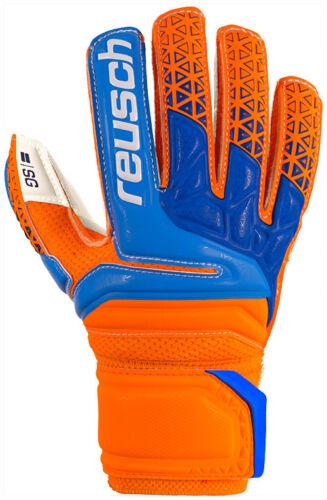 Reusch Prisma SG Fingersupport Junior orange blau Torwarthandschuhe Kinder NEU