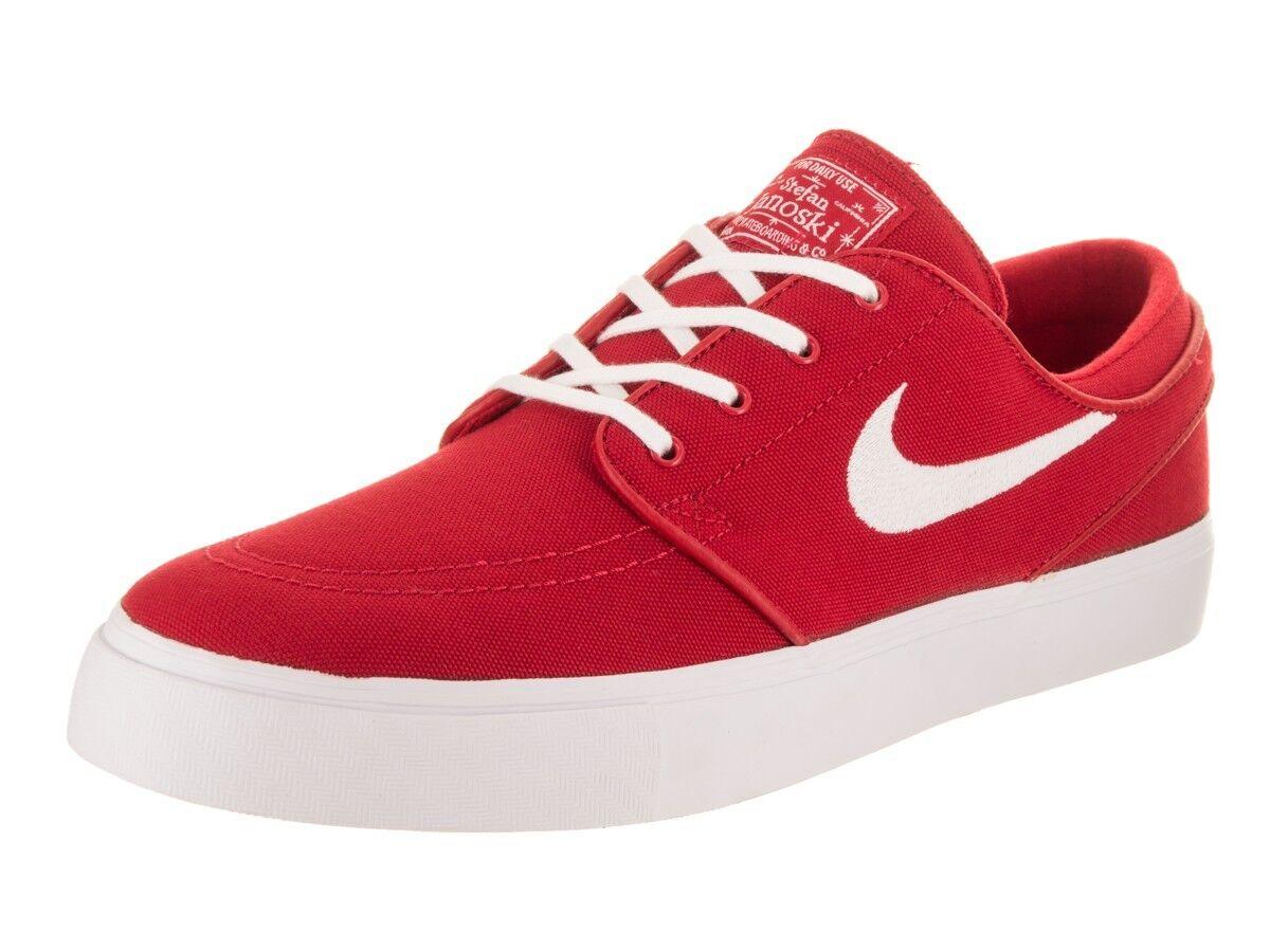 Nike SB Zoom Universidad Stefan Janoski de Lona Universidad Zoom Rojo Blanco 6201857614 Skate cea875