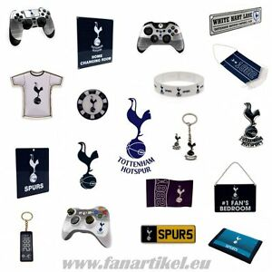 Tottenham-Hotspur-Fanshop-Fanartikel-Schal-Geburtstag-Geschenk-Fahne-Pin