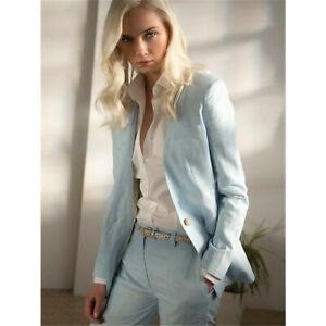 Light-Sky-Blue-Women-Business-Suits-Formal-Slim-Ladies-Office-Work-2-Piece-Suits