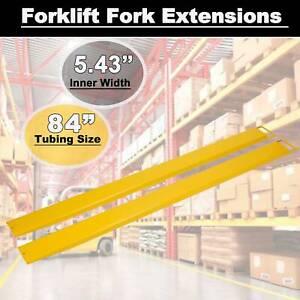 84-034-x-5-8-034-Steel-Forklift-Pallet-Fork-Extensions-For-Forklifts-and-Loaders-Truck