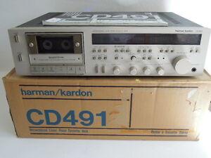 Harman Kardon CD 491 Referenz Klasse eines der besten Tape Decks 6 mon. Garantie - Deutschland - Harman Kardon CD 491 Referenz Klasse eines der besten Tape Decks 6 mon. Garantie - Deutschland