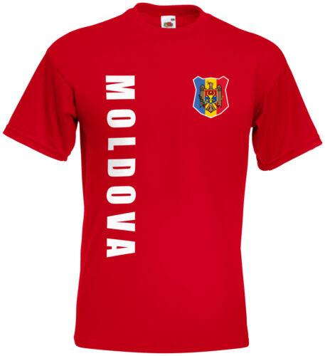 WM 2018 Moldawien MOLDOVA T-Shirt Trikot Name Nummer