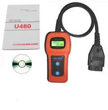 U480 Universal OBD2 CAN BUS Fault Code Reader Scanner diagnostic scan tool UK .