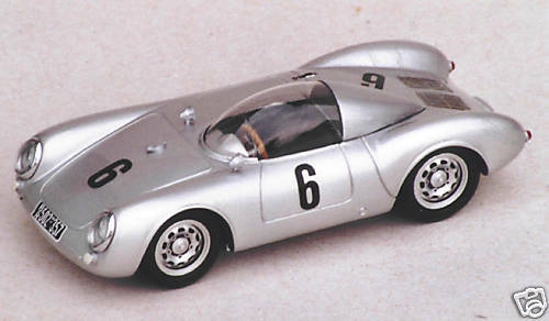 Porsche 550 spyder victor rolff vroom has paint unpainted kit 1 43