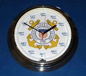 U-S-Coast-Guard-Blue-Neon-Clock-8-Designs-with-Personalized-Option