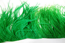 "36"" OSTRICH FEATHER FRINGE - KELLY GREEN 3-6"" Craft/Pad/Trim"