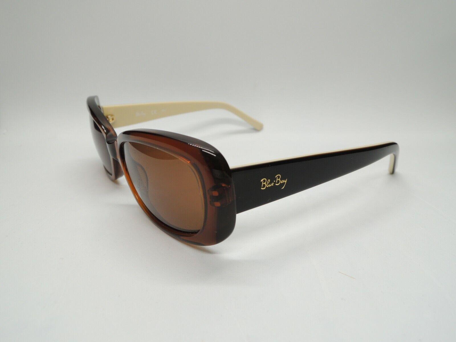 SAFILO B&B BLUE BAY MONT SERRAT 17WCC Brown/Black Mirrored Sunglasses 52-17-130