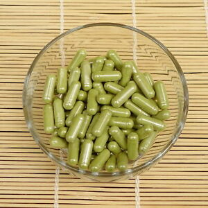 90 x Organic MATCHA Green Tea Powder Capsules 500mg, Vegicaps, Premium Quality