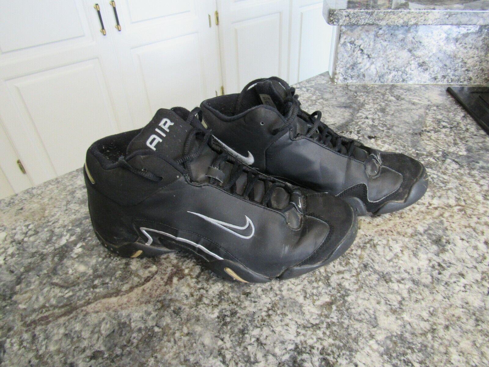 Raro nike air air air doppia faccia 3   4 alti uomini nero argentoo scarpe scarpe sz 9,5 w581w | Cheap  316bba