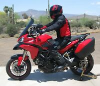 Ducati Multistrada 1200 2013-up 17 Tall, Light Gray Replacement Windshield