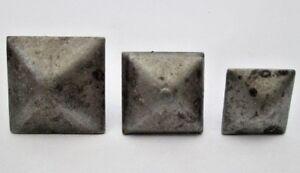 10 X SCREW IN DECORATIVE CAST IRON TUDOR DOOR WOOD CRAFTS STUDS