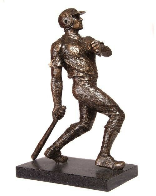 BASEBALL TROPHY ORIGINAL ART BRONZE RESIN