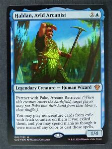 Haldan Avid Arcanist Foil - Mtg Magic Cards #K5
