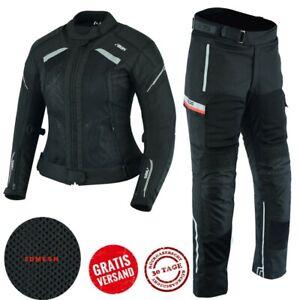 Motorrad-Kombi-Damen-Jacke-und-Hose-Alle-Groesse-verfuegbar-XS-bis-2XL