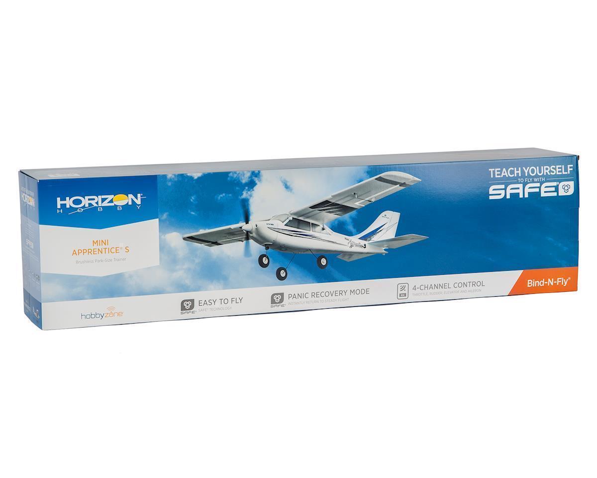 Hobbyzone Mini aprendiz S 1.2 M entrenador RC avión BNF seguro tecnología HBZ3180