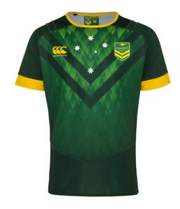 Australian-Kangaroos-Mens-Training-Jersey-Green
