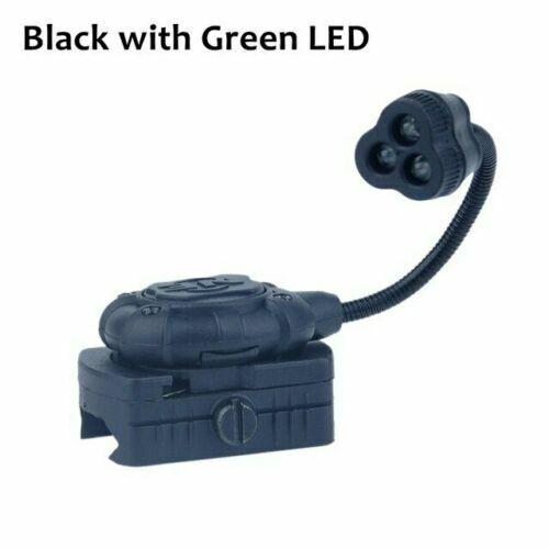 Night-Evolution Tactical Helmet Flashlight Princeton Tec MPLS3 Green Red Light