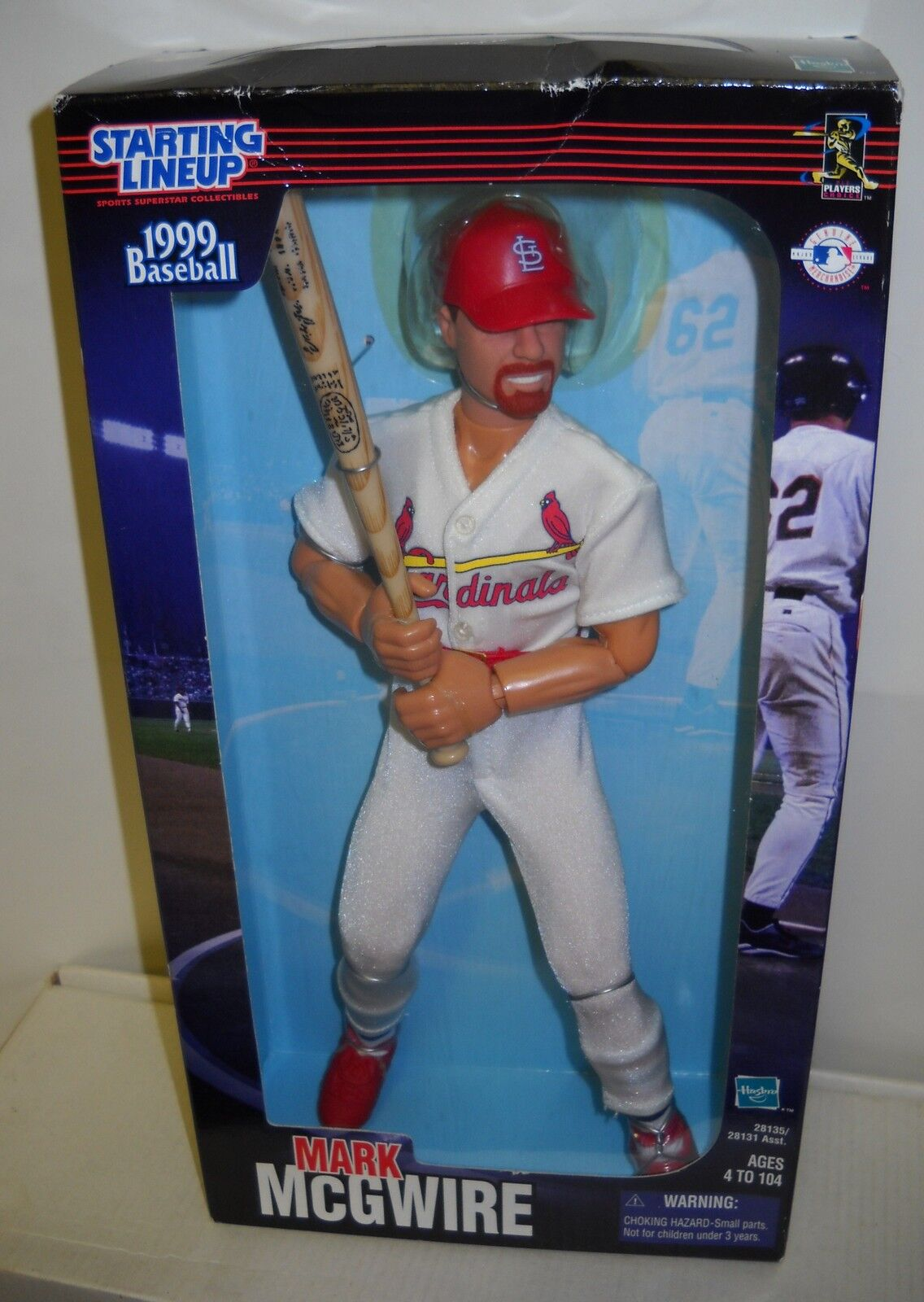 3317 NRFB Hasbro Starting Starting Starting Lineup 1999 Baseball 12