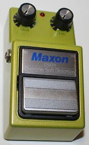 AgréAble Maxon Overdrive-soft Distorsion Osd9 Pédale, Nouveau! Maxon Revendeur Agréé