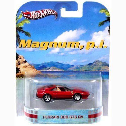 Hot Wheels Magnum Magnum Magnum P.I. Ferrari 308 GTS QV Die Cast Car cb1048