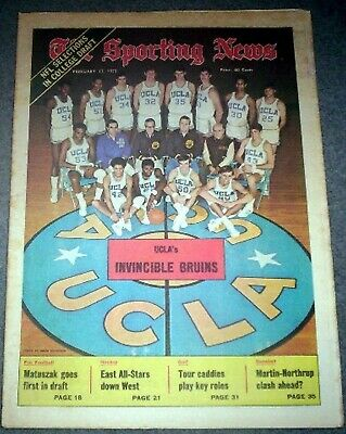 UCLA BRUINS BASKETBALL 1973 NCAA CHAMPIONS TEAM PHOTO ... Bruins Roster 1973