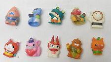 Yo-Kai Watch Ghost Friends Set of 10 Finger Puppet Figures Bandai Japan toy set