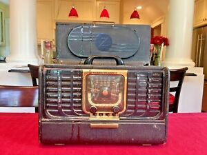 VINTAGE-Zenith-Trans-Oceanic-Clipper-Radio-8G005TZ1-Parts-ONLY-For-Restoration