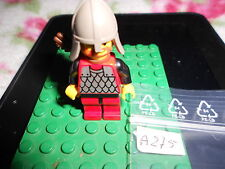 LEGO VINTAGE MINIFIG   6086-1: Black Knight's Castle  whit  quiver