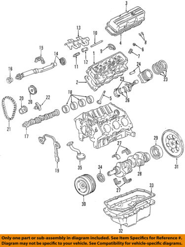 1996-2005 PARK AVENUE GRAND PRIX 3.8 SUPER CHARGED VALVE COVER GASKET  24503937