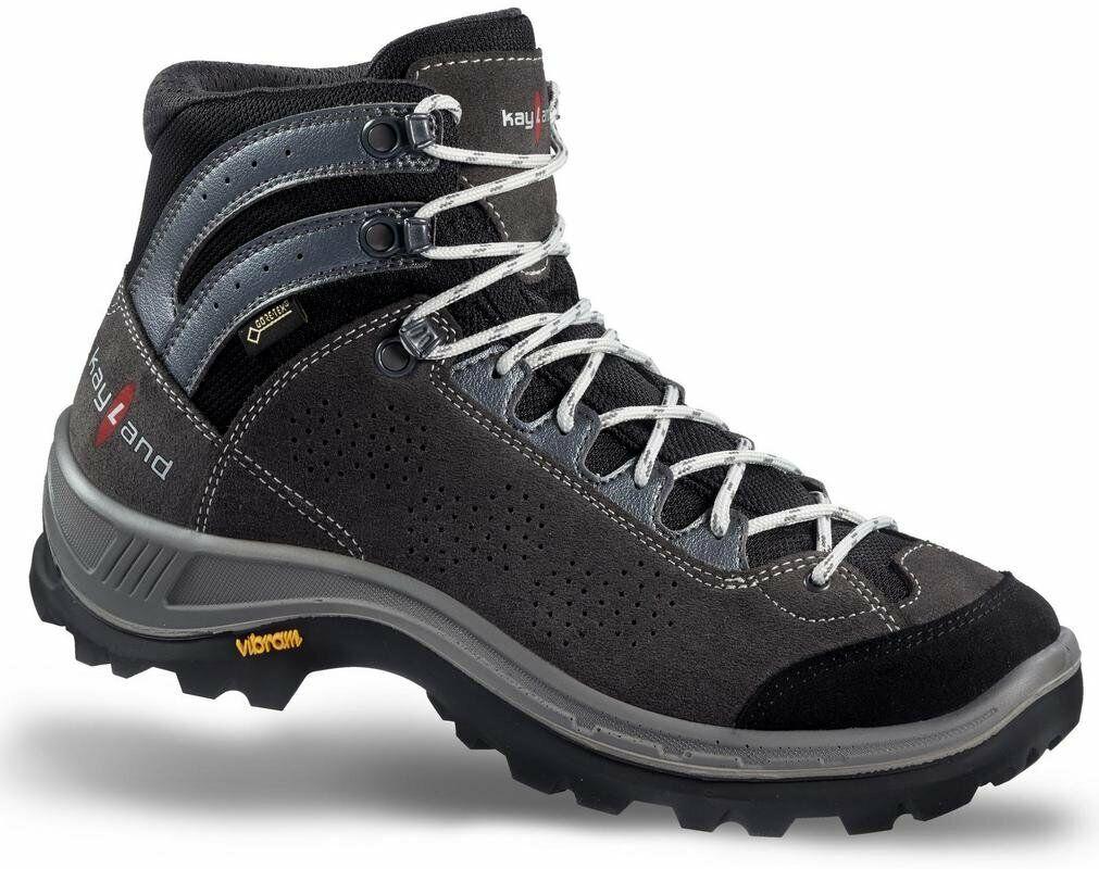 chaussures Trekking Alpinismo Escursionismo KAYLAND IMPACT GTX Anthracite gris