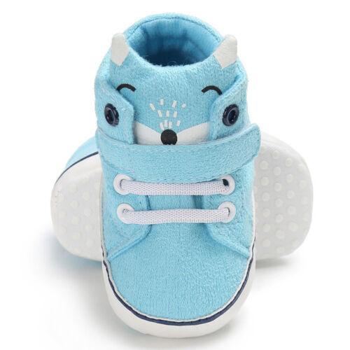 Weich Soles Babyschuhe Krabbelschuhe Lauflernschuhe Socken Baumwolle Kind Schuhe