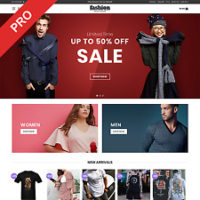 Fashion Store Dropshipping Website Men Amp Women Clothing Automated Business