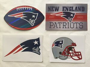 NFL-New-England-Patriots-Sticker-Package-Logo-Helmet-Football-Vintage-Stickers