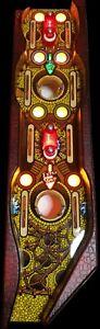 "Indiana Jones Pinball - ""Path of Advebture"" LED BOARD-set, Plug & Play"