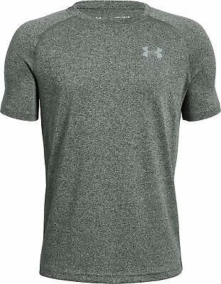 Ausdauernd Under Armour Tech Junior Training Top Green Short Sleeve T-shirt Youth Sports