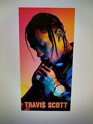 TRAVIS SCOTT 12X24 POSTER RAP MUSIC HIP HOP GIFT ASTROWORLD ANTIDOTE KENDALL!!!