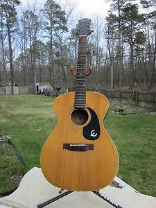 Gibson Acoustic Guitar Parts : vintage gibson epiphone ft 130 acoustic guitar for restoration or parts ebay ~ Hamham.info Haus und Dekorationen