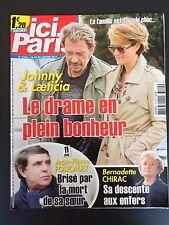 ►ICI PARIS 3524 - HALLYDAY - SERGE LAMA - FOUCAULT - ROGER HANIN - DEWAERE