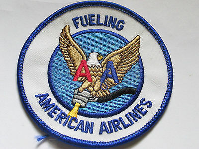 American Airlines Fueling Aircraft Patch (#3084) Collector Patch